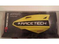 Racetech vertigo hand guards RM Yellow