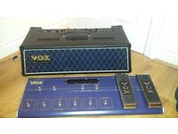 Vox Valvatronics 60w Amp Head w/ VC-12 Foot Controler
