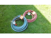 New hoses and guages for cutting equipment