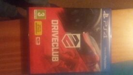 Driveclub ps4 for swap of another ps4 title.In very good condition,from smoke free house