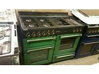 Fully reconditioned 110cm dual fuel range cooker