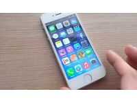 Apple Iphone 5S - White and Silver - 16GB - Unlocked