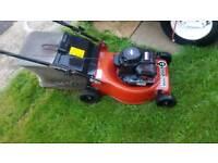 Petrol push mower