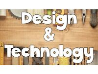 Design and Technology Tutor - All years - ALL AREAS COVERED - Please see below