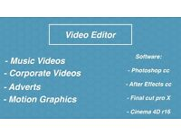 Freelance Video Editor and Graphics Designer