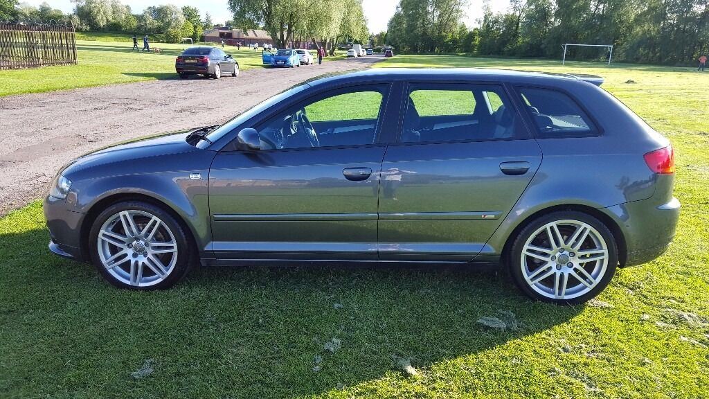 2008 audi a3 1 8 tfsi sportback s tronic 5 door s line f s h in glasgow city centre. Black Bedroom Furniture Sets. Home Design Ideas