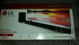 LG Wireless Sound Bar Bluetooth Speaker