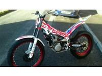 Beta evo 300cc 4 stroke factory 2016 trials bike