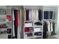 Carpenter: fitted wardrobes and shelves, kitchen fitting and other carpentry works.