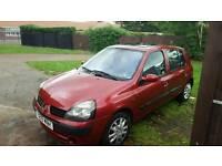 Renault clio 2001(Y) long mot
