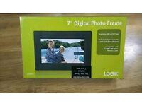 "7"" digital photo frame brand new"