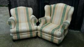 Quality Matching pair of armchairs