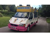 SOFT ICE CREAM VAN FORD TRANSIT 1995-M £4995