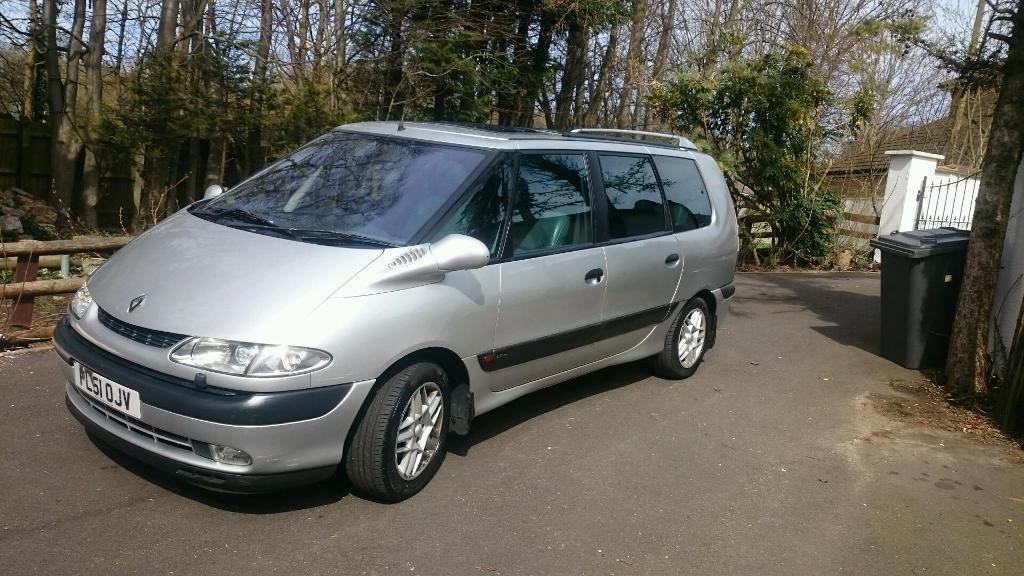 renault grand espace 2001 petrol automatic silver in luton bedfordshire gumtree. Black Bedroom Furniture Sets. Home Design Ideas