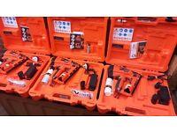 PASLODE IM65A F16 63MM 7.4V 1.2AH LI-ION SECOND FIX ANGLED GAS