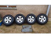 Nissan Navara D40 Alloy wheels
