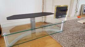 TV glass TABLE. £80.00 ono