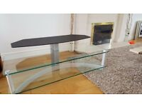 TV glass TABLE. £80.00 ono