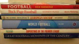Various football books