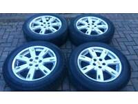 GENUINE LAND ROVER DISCOVERY 4 3 HSE ALLOY WHEELS 5X120 L322 SPORT VOGUE
