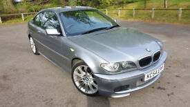 BMW 320 CI 2.2 M Sport, 2004, 56k, Long Mot, Leather Interior & HPI Clear £2895