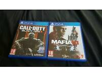 Mafia 3 & Black Ops 3 PS4