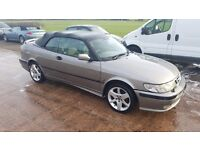 2001 saab 9-3 2.0 turbo convertible