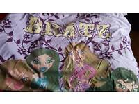 2 Bratz bed covers for sale