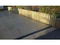 SUPPLY AND INSTALL GARDEN TIMBER FENCING