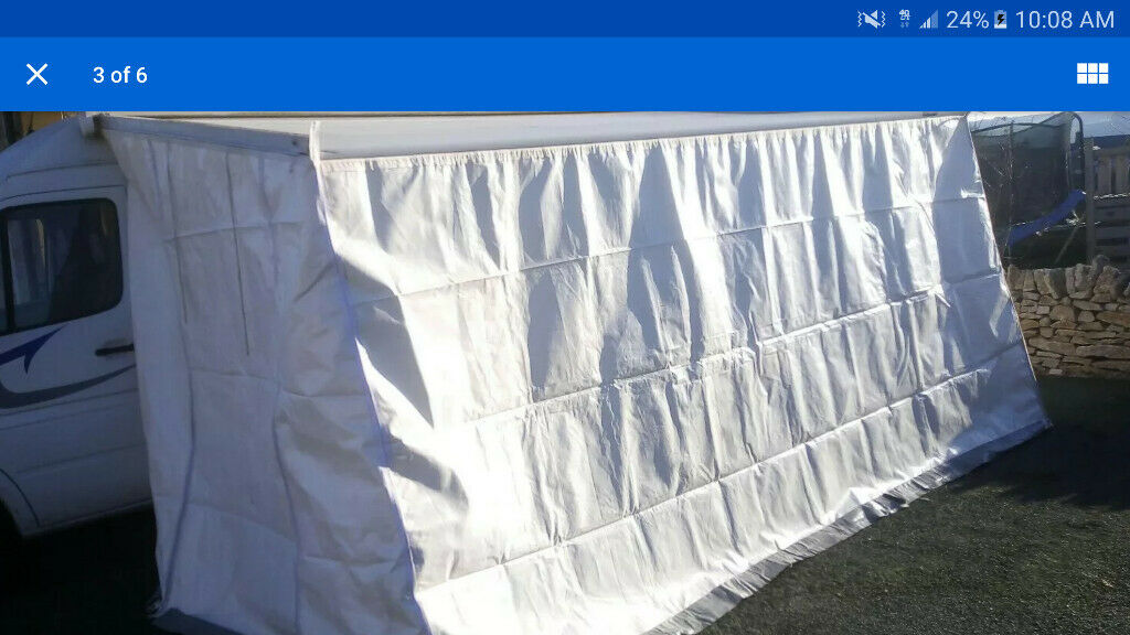FIAMMA F45L WIND OUT AWNING AND PRIVACY ROOM /CAMPERVAN ...