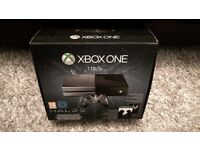 1TB Xbox One Console , Boxed, Hardly Used, Practically New!! Only £160!!!! PICK IT UP BY TONIGHT!!!!