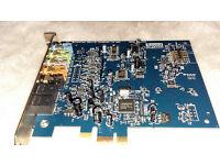 Creative Sound Blaster - PCI-E Sound Card Model : SB1040