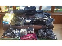 200 brand new bags wholesale job lot of ladies black handbags various styles all must go so bargain