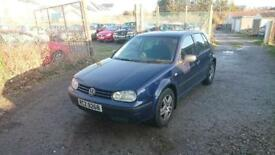 VOLKSWAGEN GOLF 1.4 Match 5dr - Cheap car to clear (blue) 2003