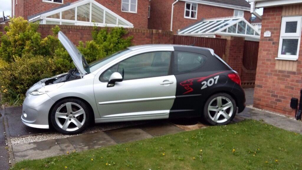 Peugeot 207 Sport Slightly Modified In Kirkby In