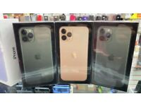 IPhone 11 Pro Max 64GB/256GB/512GB unlocked LIKE NEW BOX OPEN ON ALL NETWORKS AND Warranty