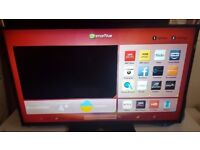 "50"" JVC SMART LED FHD TV WIFI FREEVIEW HDMI & USB WITH REMOTE CAN DELIVER"