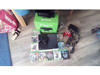 Xbox one bundle in great condition