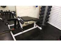 Body solid leg extension max weights gym Olympic