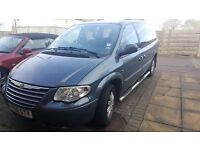 Chrysler Grand Voyager Limited LPG, new MOT