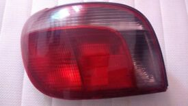Rear passenger side light Toyota Yaris 2000 year