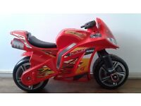 Avigo Red Ride-On Motorbike