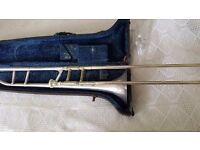 Trombone - CG Conn 44H - silver