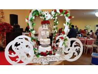 Wedding Services in Decor/carts/wedding cakes/desserts