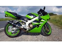 Kawasaki ZX6R Ninja *Year MOT*New Tyre*Low Mileage*UK Bike*