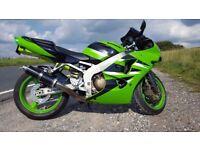 Kawasaki ZX6R Ninja *Year MOT*New Tyre*Low Mileage*UK Bike*
