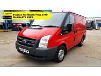 Ford Transit 2.2 260 - 1 Owner From New, Full Service History, 1YR MOT, Warranty, Rear Sensors