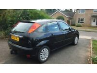 FORD FOCUS 1.6 GHIA (2002), VERY LOW MILEAGE, FULL SERVICE HISTORY