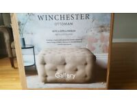 Brand new!! Winchester gallery ottoman
