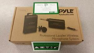 Pyle Clip-on Lavalier Wireless Mic Set
